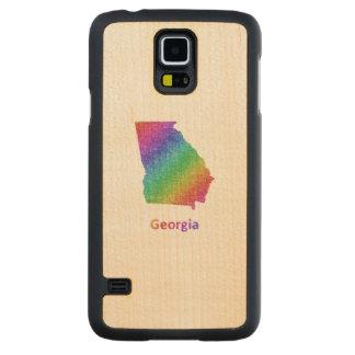 Georgia Carved Maple Galaxy S5 Case
