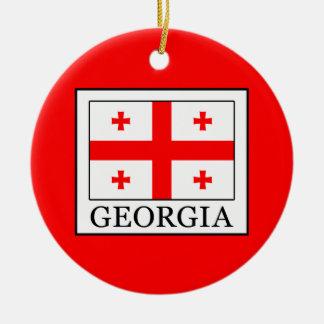 Georgia Ceramic Ornament