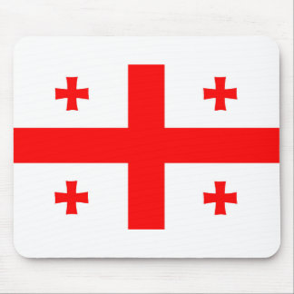 georgia country flag long symbol mouse pad