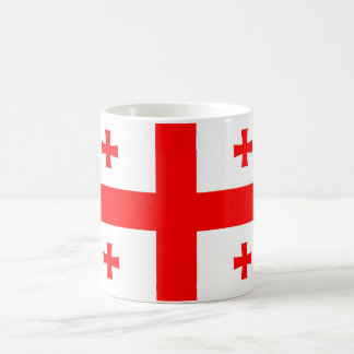 georgia country flag symbol coffee mug