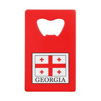 Georgia Credit Card Bottle Opener
