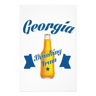 Georgia Drinking team Stationery