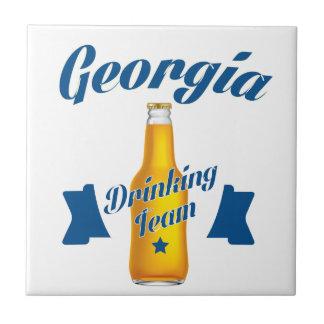 Georgia Drinking team Tile