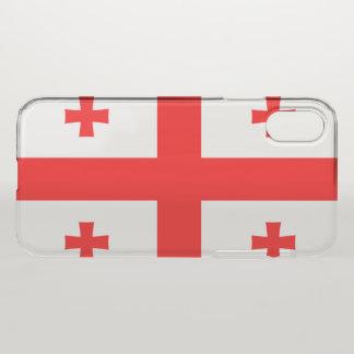 Georgia Flag iPhone X Case