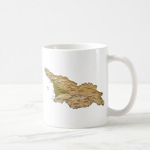 Georgia Flag ~ Map Mug