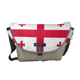 Georgia Flag Messenger Bag