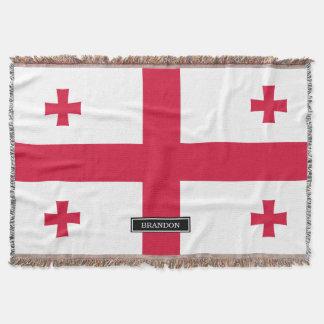 Georgia Flag Throw
