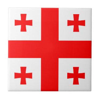 Georgia Flag Tile