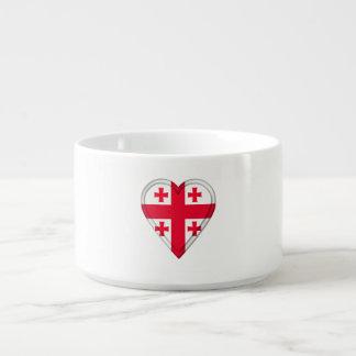 Georgia Georgian Flag Bowl