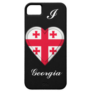 Georgia Georgian flag iPhone 5 Case
