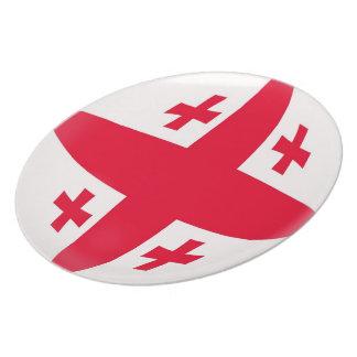 Georgia Georgian Flag Plate