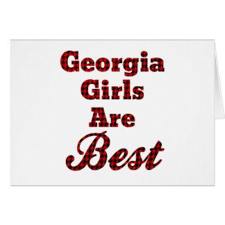 Georgia Girls Are Best Card