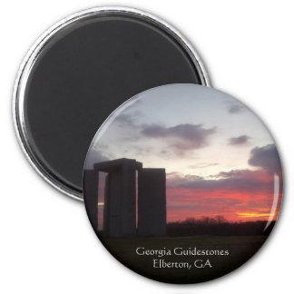 Georgia Guidestones Sunset Magnet
