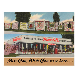 Georgia, Harold's Shop Postcard