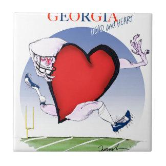 georgia head heart, tony fernandes tile
