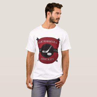 Georgia Hockey Shield Logo T-Shirt