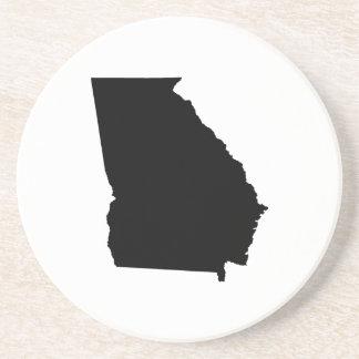 Georgia in Black and White Coaster