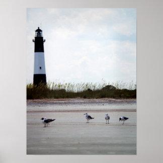 Georgia Lighthouse Poster