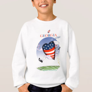 georgia loud and proud, tony fernandes sweatshirt