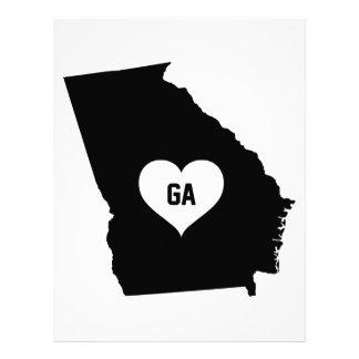 Georgia Love Letterhead
