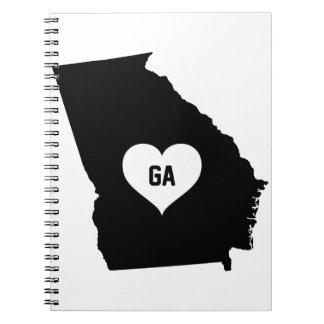Georgia Love Notebooks