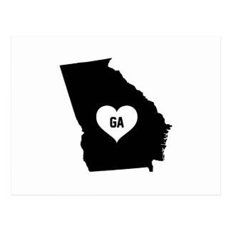 Georgia Love Postcard