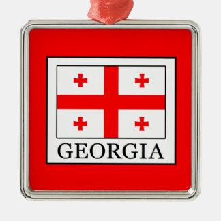 Georgia Metal Ornament