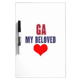 Georgia my beloved dry erase board