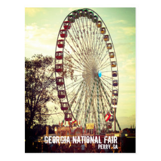 Georgia National Fair, Perry GA Postcard