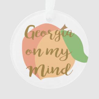 Georgia on My Mind Ornament