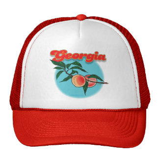 Georgia peach cap trucker hat