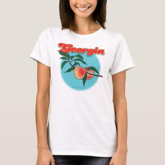 Georgia peach shirt F/B