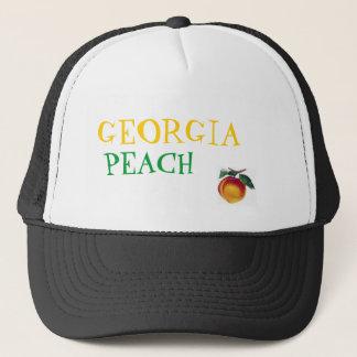 GEORGIA, PEACH TRUCKER HAT
