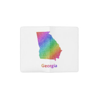 Georgia Pocket Moleskine Notebook