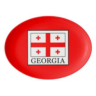 Georgia Porcelain Serving Platter
