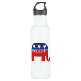 Georgia Republican Elephant 710 Ml Water Bottle