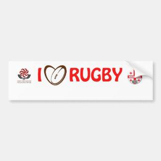 georgia rugby Sticker