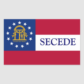 Georgia Secede sticker