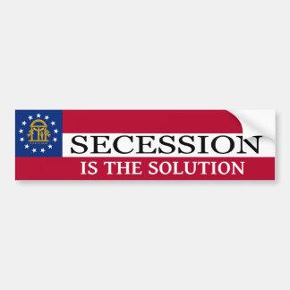Georgia Secession Bumper Sticker
