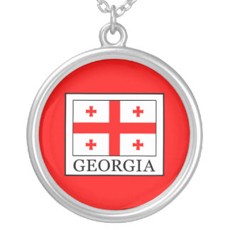 Georgia Silver Plated Necklace