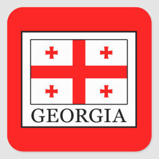 Georgia Square Sticker