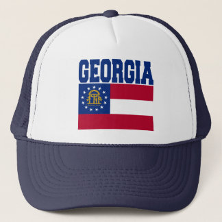 Georgia State Flag Hat