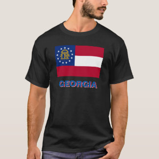 GEORGIA STATE FLAG T-Shirt