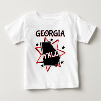 Georgia State Pride Y'all Baby T-Shirt