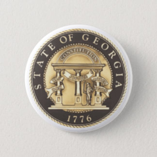 Georgia State Seal 2 Inch Round Button