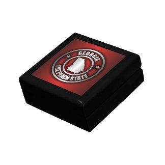 """Georgia Steel"" Keepsake Box (Red)"