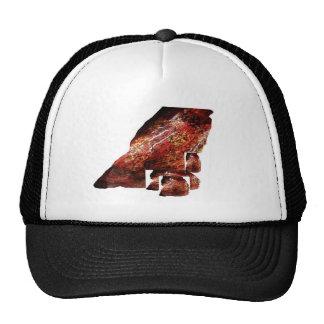 Georgia Still On My Mind cap abstract slant Trucker Hat