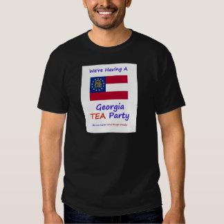 Georgia TEA Party - We're Taxed Enough Already! T-shirt