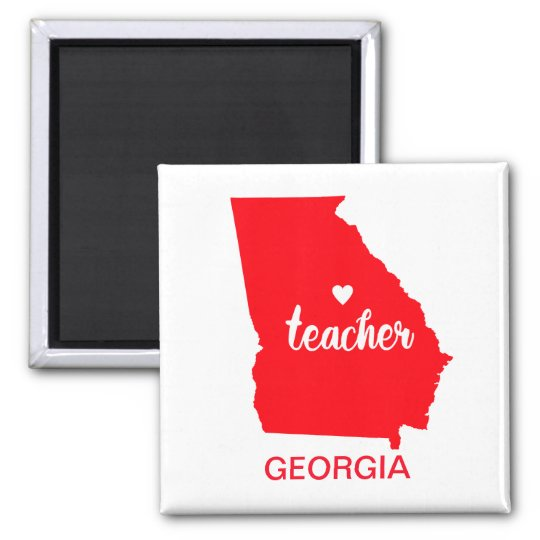 Georgia Teacher Magnet