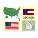 Georgia, USA Postcard